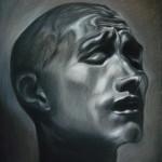 "Drawing After a Rodin Sculpture, 12""x15"""
